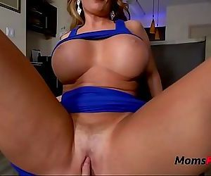 MOMs tired pussy needs..