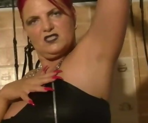 Mature femdom armpit..