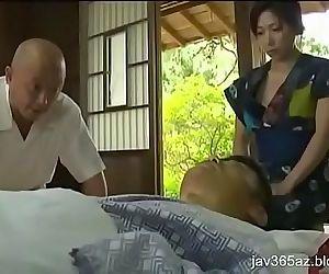 japanese wife has an..