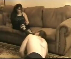 Slave Dominated By Hot..