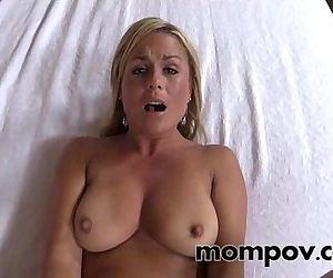 hot milf gets a big..