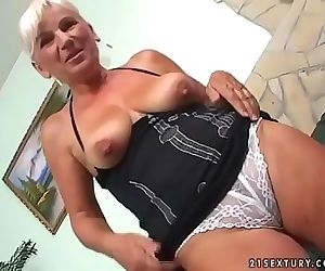 60 years old granny 6 min