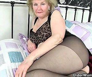 British granny Clare..