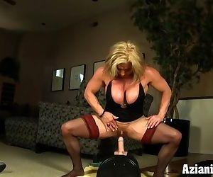 Female bodybuilder..