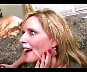 Mom let son fuck her to..