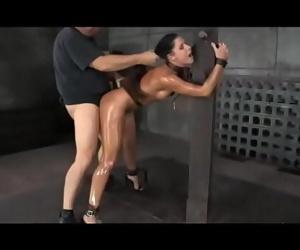 Creampie bondage studio..