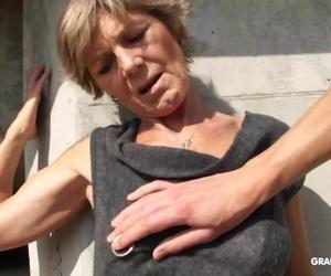 Hot tattooed grandma..
