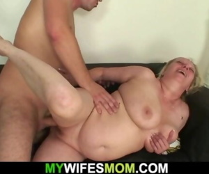 Wife leaves and busty..