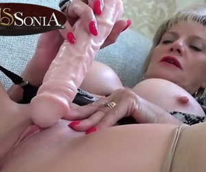 Sexy mature Lady Sonia..