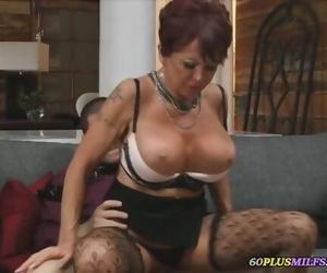 Granny with Big Tits..