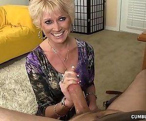 Topless Granny..