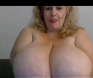 Granny bbw with huge..