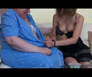 Old busty granny..