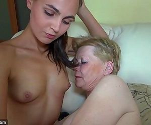 Nice young woman and..