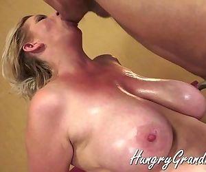 Big Tit Hairy Mature..