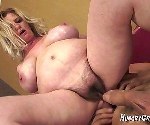 Big Tit 55yo blonde..