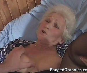 Busty blonde MILF slut..