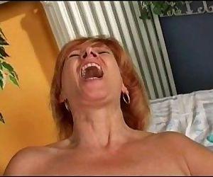 Redhead matures doing..