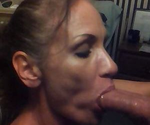 Mature Sucks Dick