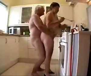 Old grand parents..