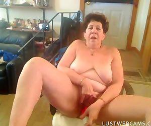 Nasty granny lady..