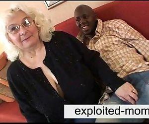 Granny loves black cock..