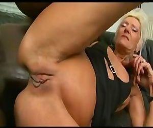 anal granny bbc