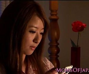 Mature Japanese in..