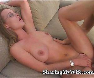 Wife Fucks New Cock - 3..