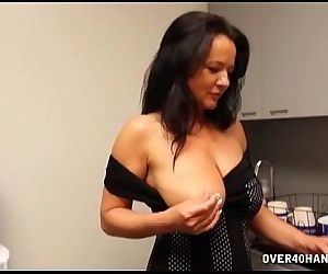 Naughty Milf Stroking..