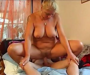 Hot Milf fucks young Boy
