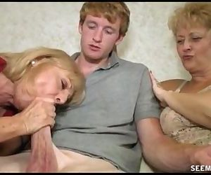 Two Blonde Grannies..