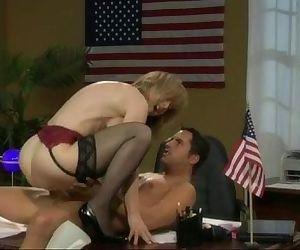 Nina Hartley loves to..