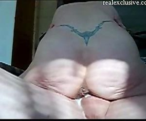 Fucking and creampie My..