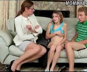 Stepmom Samantha caught..