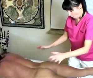 Cock hungry masseuse..