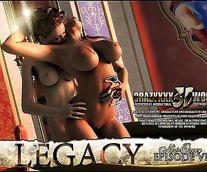 3D Comic: Legacy...