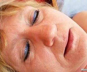 Dirty old grandma pussy..