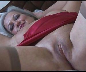 Attractive bust granny..