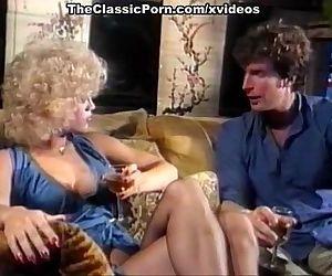 Blonde in lingerie gets..