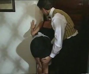 Sexy Blonde Maid gets..
