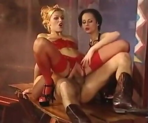 Kinky Saloon Orgy with..