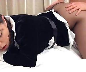 Playful Nipon Maid Does..