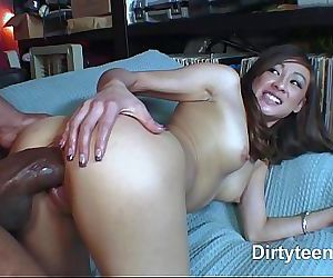 Interracial asian pussy..