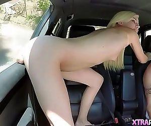 Petite Blonde Having..