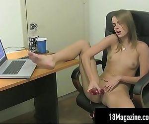 Tiny Tit Teen Meggan..