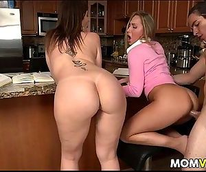 Stepmom Sara Jay and..
