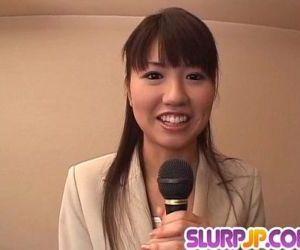 Misato Kuninaka gets..