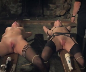 Submissive Tied up with..