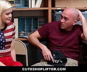Cute Teen Shoplifter..